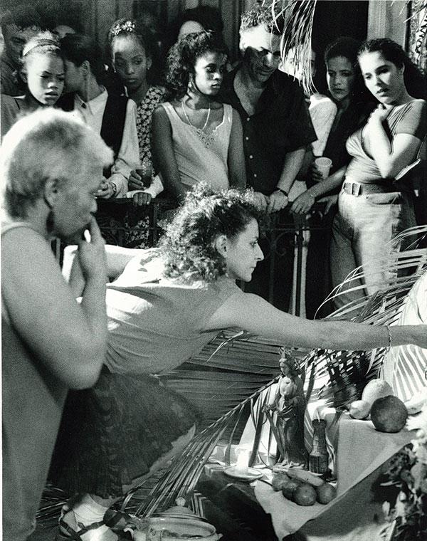 Dance revolution . . . Suki John chronicles Cuban dance
