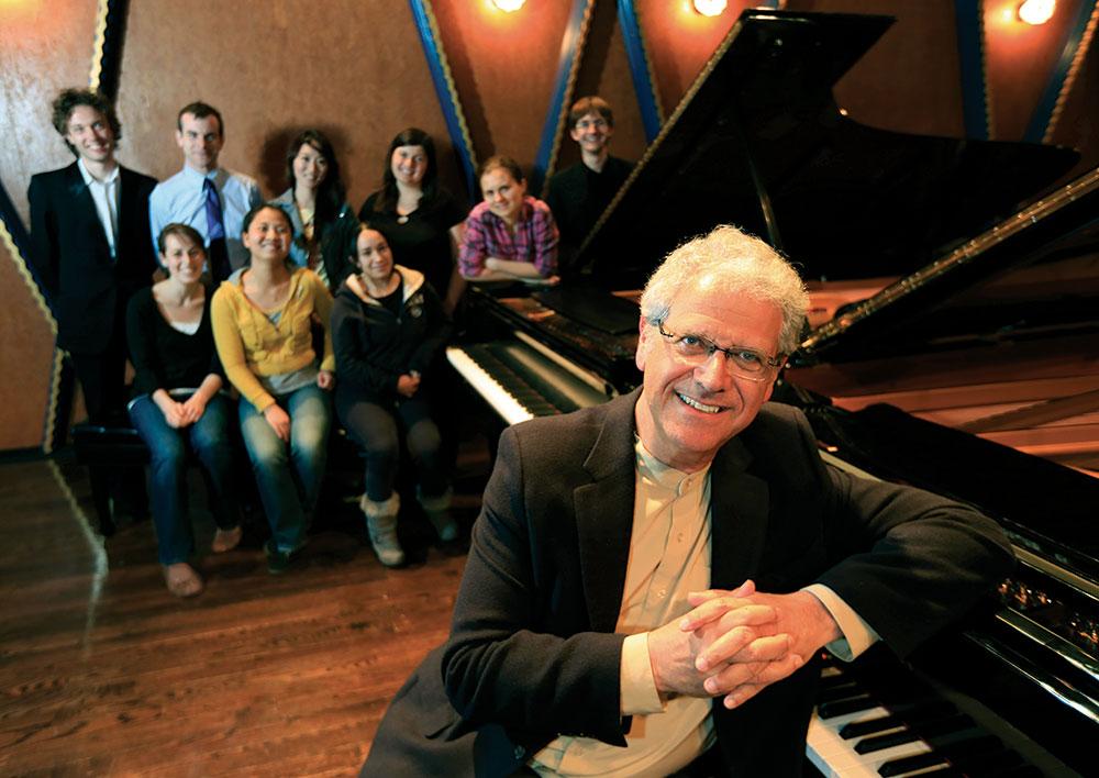 Inspiring virtuosity . . . Tamas Ungar