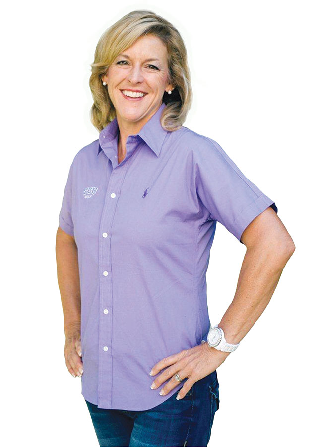 Q&A with … Angie Ravaioli-Larkin, women's golf