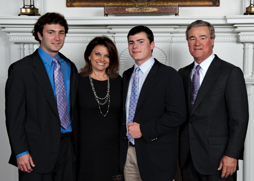 2011 Alumni Awards – Trevor and Jan Rees-Jones