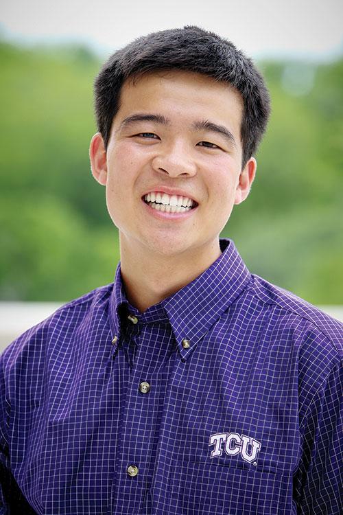 2014 Fulbright scholar Barrington Hwang '14