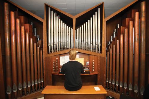 Piping up: Pipe Organ Encounter