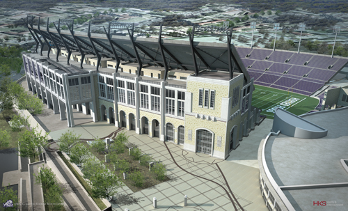 Amon G. Carter Stadium renovation kicks off in November