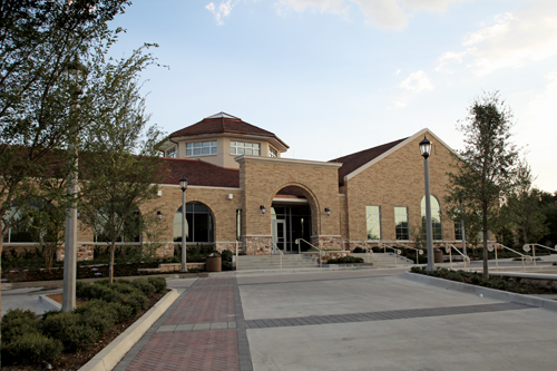 A new front door: Mary Wright Admission Center
