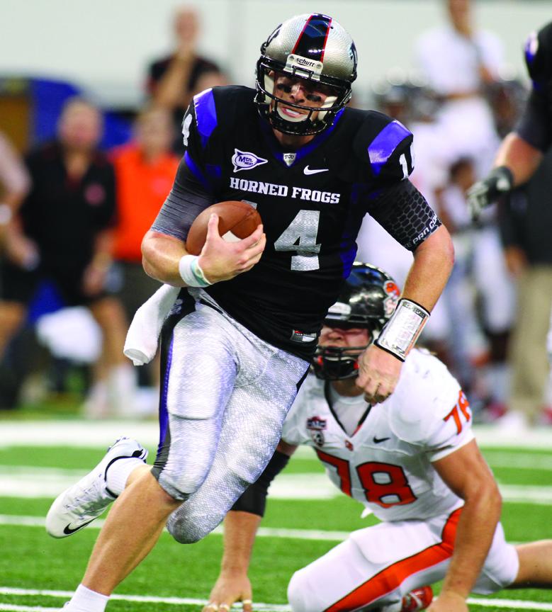 Winning style: Quarterback Andy Dalton