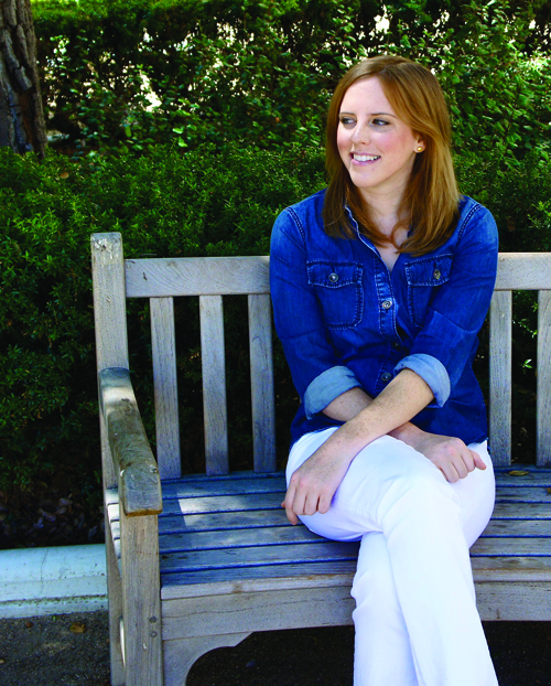 A happy collision Katherine Beattie '08