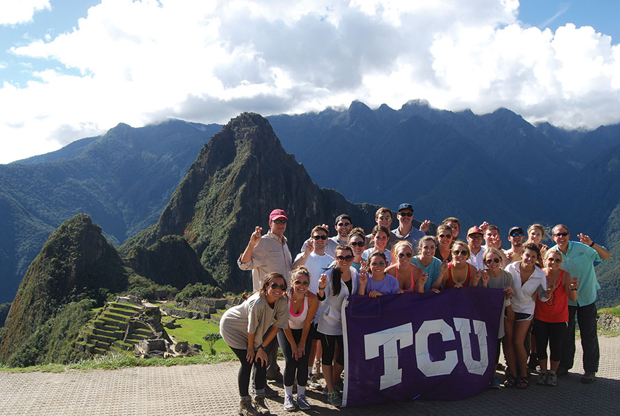 Neeley School of Business study abroad in Peru