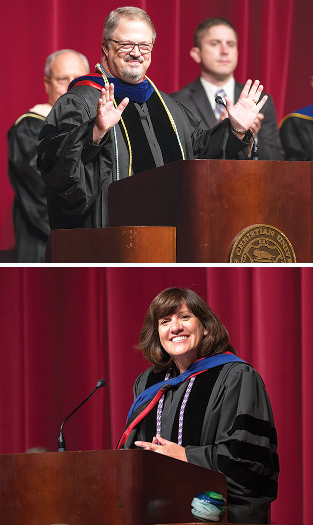 Two alums named top profs