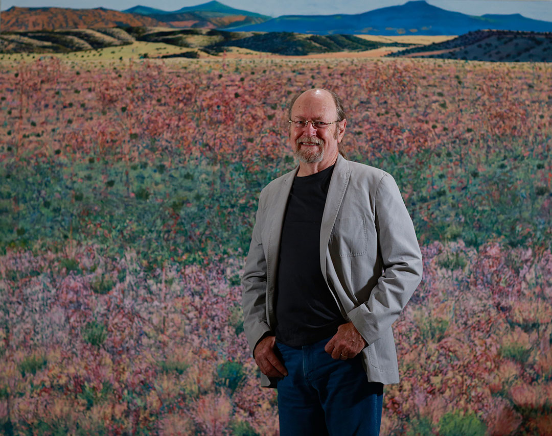 Painter of distinction: Jim Woodson '65