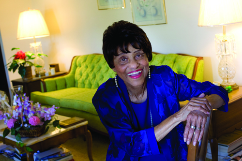Trailblazer in nursing: Allene Parks Jones '63