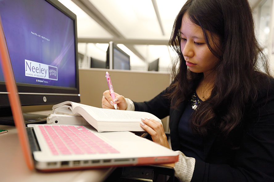 Neeley School of Business students learn life-changing lessons