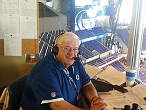 Bob Lamey '60 is on the air