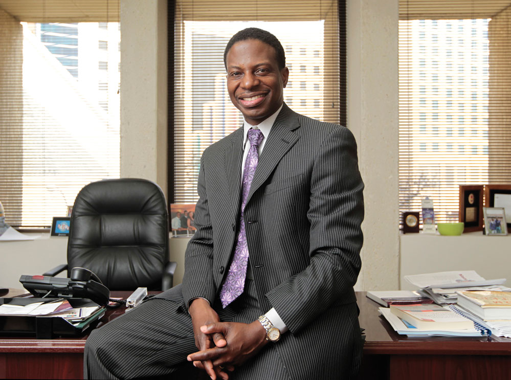 Horatio Porter '92 MBA '94 is changing lanes