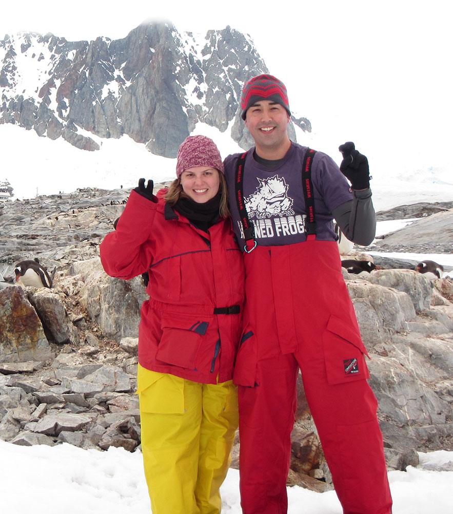 TCU couple explores Antarctica