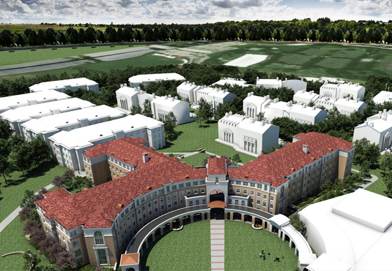Work on Worth Hills residence halls under way