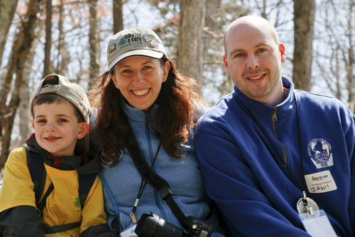Hiking for a cure: Tracy Lamb Brown '95